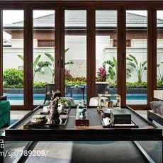 2018精选面积124平别墅客厅东南亚装修欣赏图片