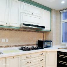 精美复式厨房欧式装修设计效果图片欣赏