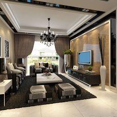 精美四居客厅现代欣赏图片