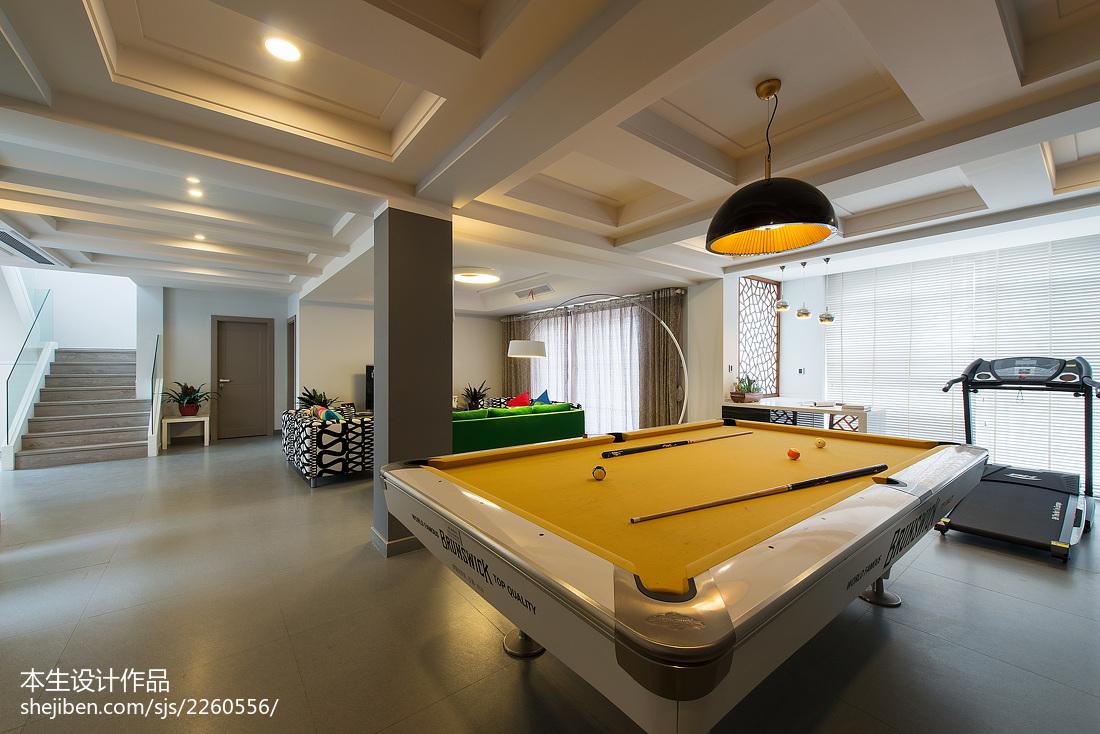 热门复式休闲区现代效果图片