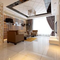 精选94平米三居客厅现代欣赏图
