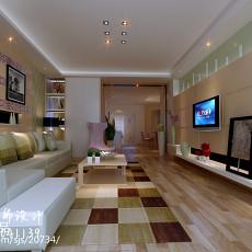 精美97平米三居客厅现代实景图