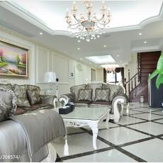 精选139平米欧式复式客厅装修效果图片大全