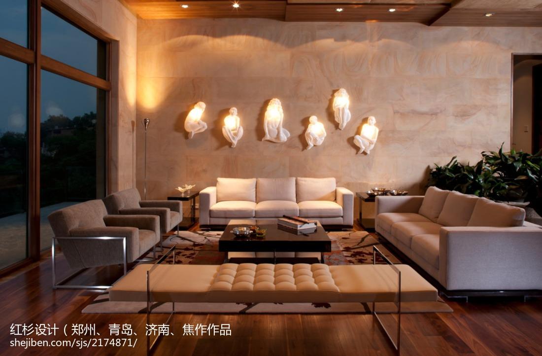 高雅欧式风格电视背景墙效果图