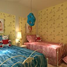 77平米二居卧室现代装修实景图片大全