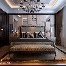 热门98平米三居卧室欧式装修实景图片