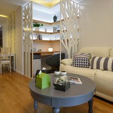 面积70平现代二居客厅装饰图片欣赏