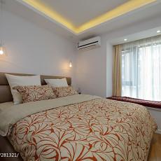 热门73平米二居卧室现代实景图片大全