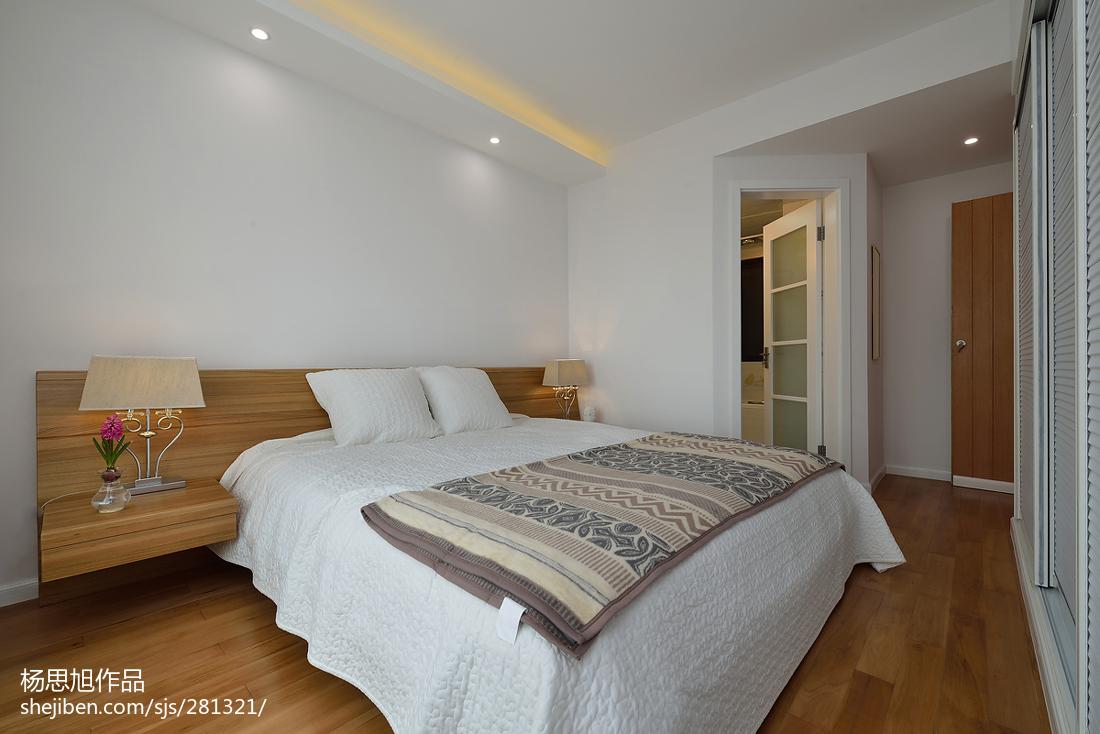 热门84平方二居卧室现代效果图片欣赏