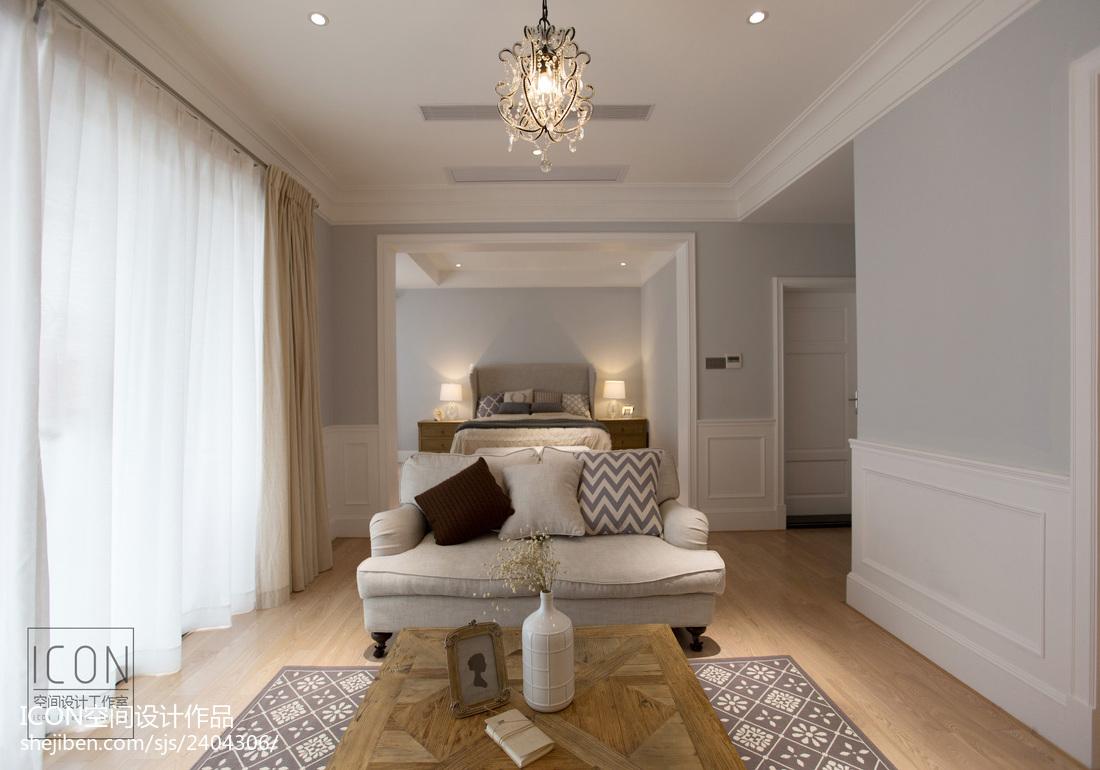 精美120平方美式别墅客厅装修图片欣赏