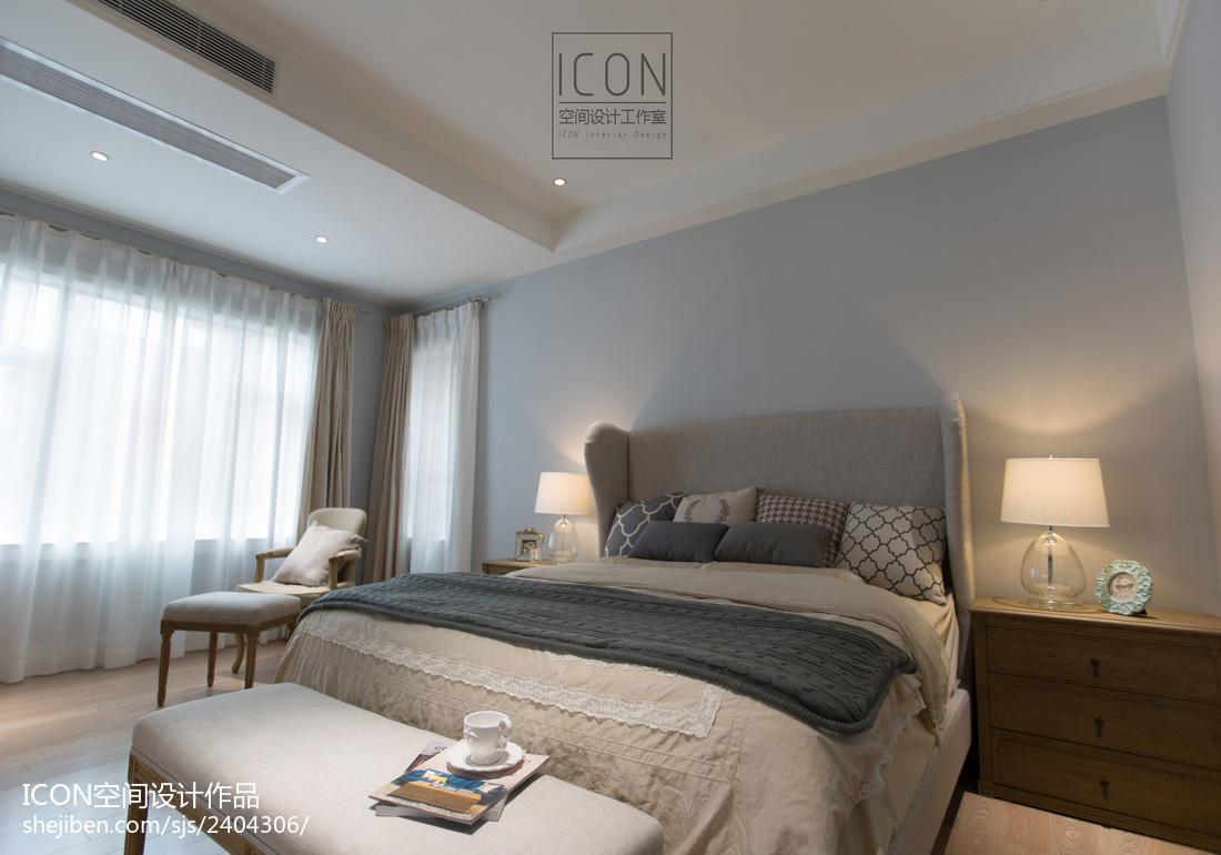 美式風格臥室裝修設計圖片