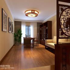 热门中式四居书房欣赏图
