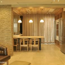 精美大小129平现代四居餐厅装饰图片