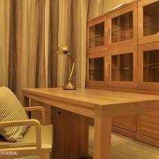 热门122平米四居书房现代装修设计效果图片大全