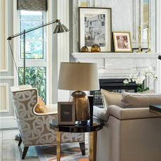 精美面积110平别墅客厅美式装修效果图
