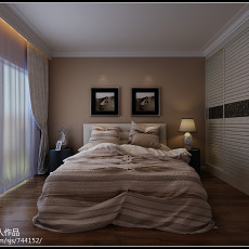 热门面积73平小户型卧室现代装修图片