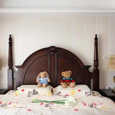 精美美式三居卧室装修图片