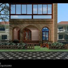 精美137平米美式别墅装修实景图