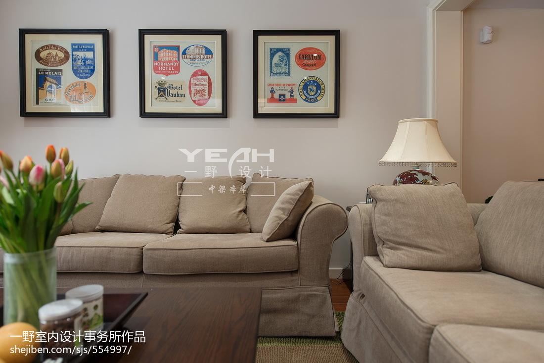 精选137平米美式别墅客厅装修图片欣赏