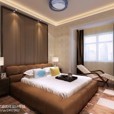 热门大小103平现代三居卧室装修图片欣赏