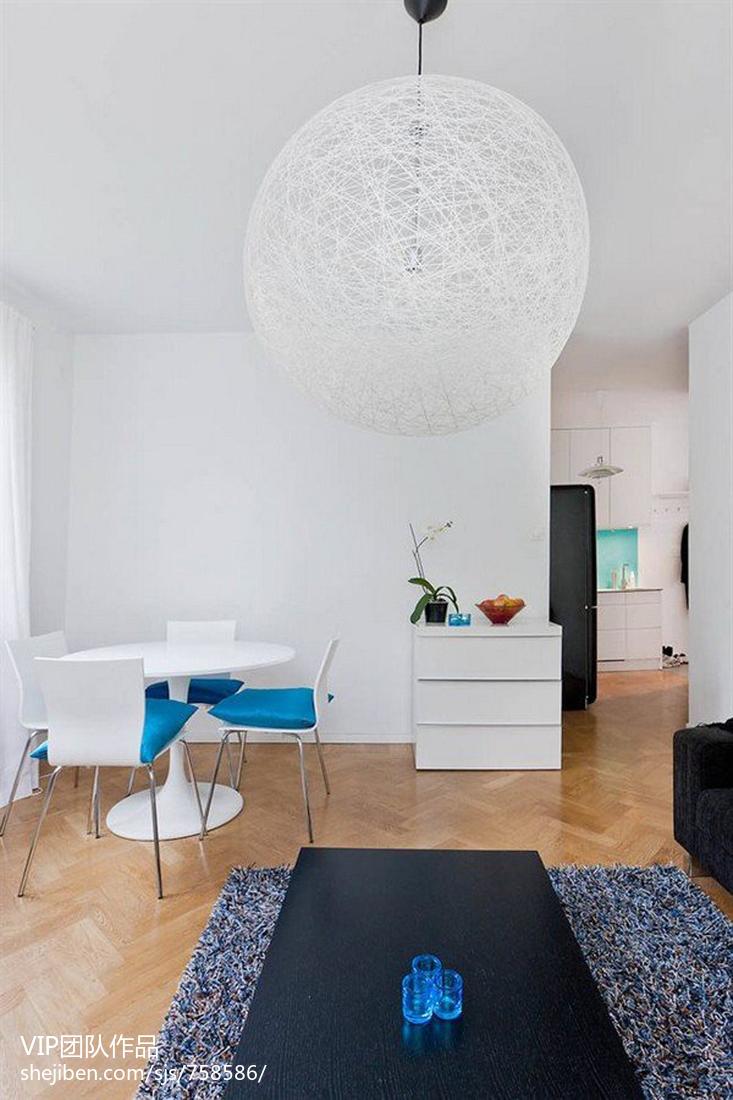 精选74平米现代小户型客厅装修欣赏图片大全