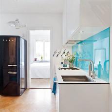 热门75平米现代小户型厨房实景图片大全