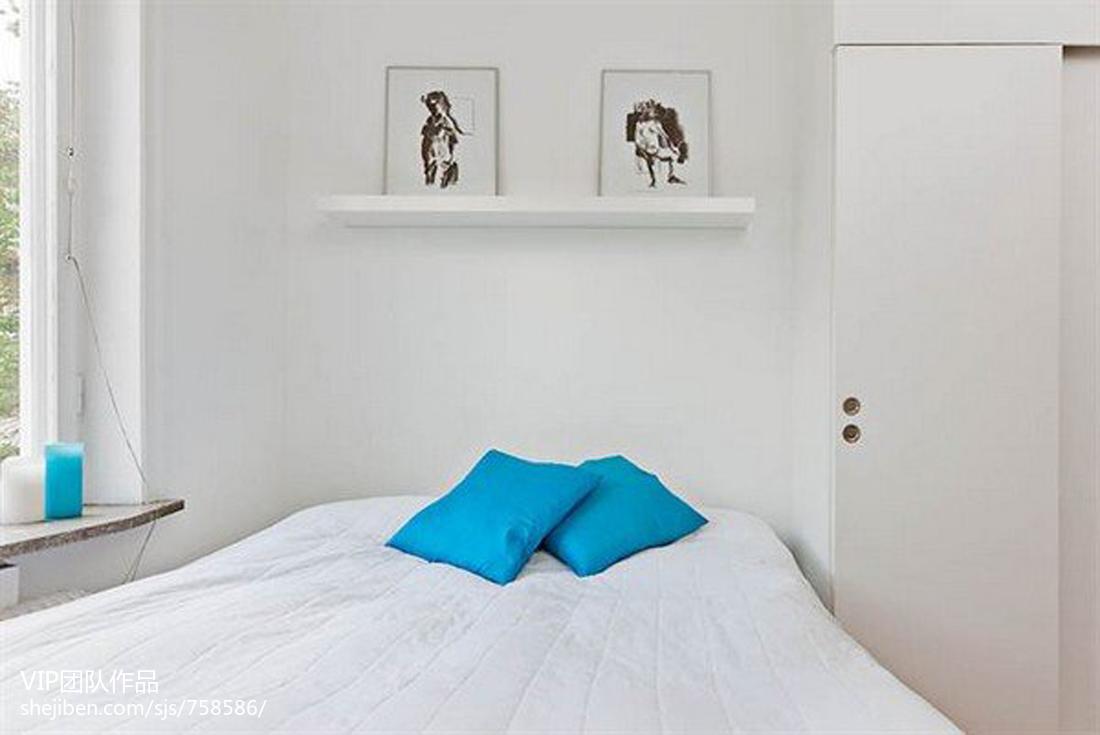 2018精选面积90平小户型卧室现代装修效果图片大全