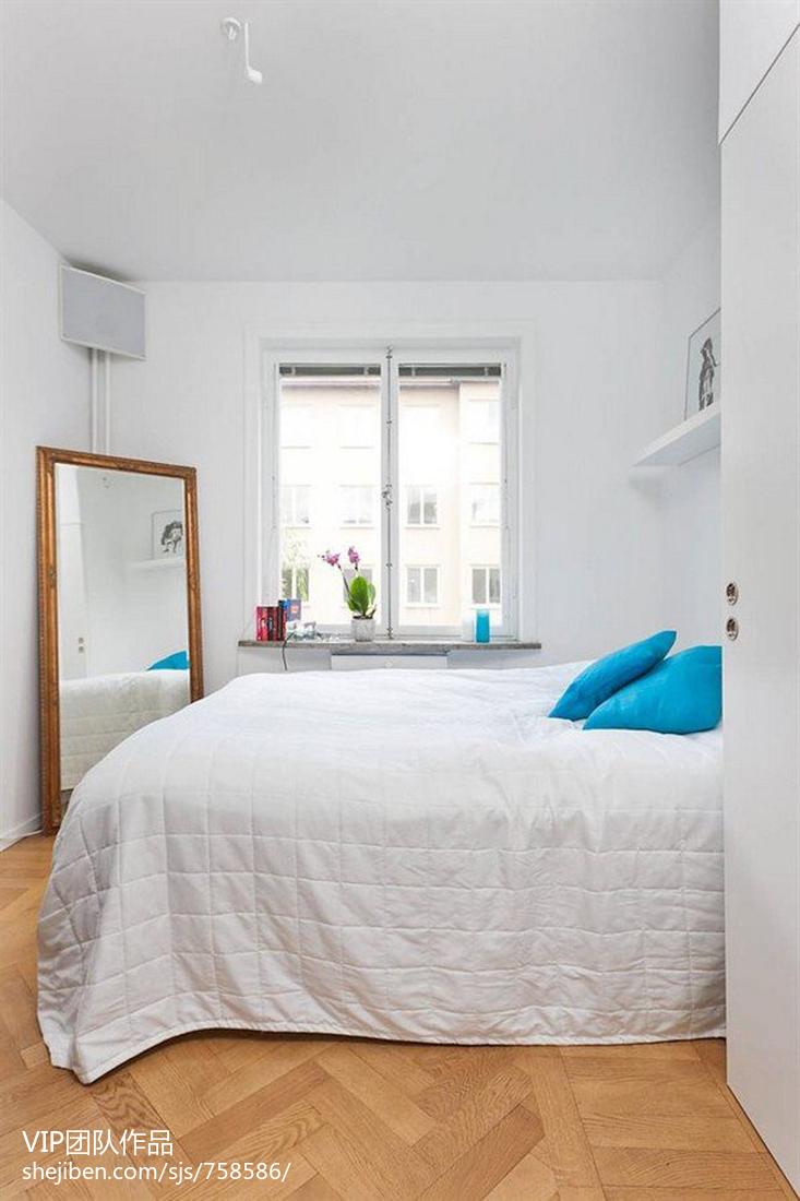 2018精选79平米现代小户型卧室装饰图片