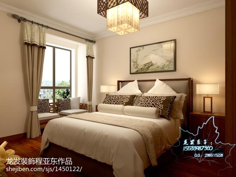 中式卧室装修效果图  2012最新中式卧室装修效果图