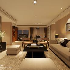 精选134平方四居客厅现代欣赏图片