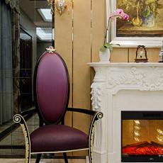 2018面积129平别墅客厅新古典装修效果图片大全