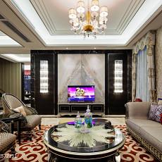 热门别墅客厅新古典装修设计效果图片欣赏