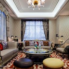 精选126平方新古典别墅客厅效果图片