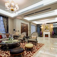 精选面积134平别墅客厅新古典效果图片