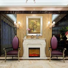 2018精选114平米新古典别墅客厅装修图片