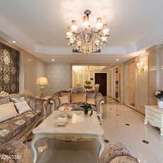 精美欧式别墅客厅装修效果图