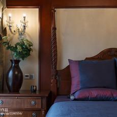2018美式复式卧室装修设计效果图片大全