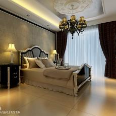 109平米三居卧室欧式效果图