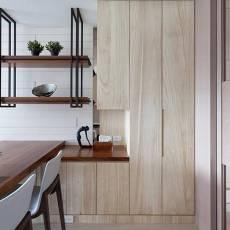 102平米三居餐厅现代装修实景图片