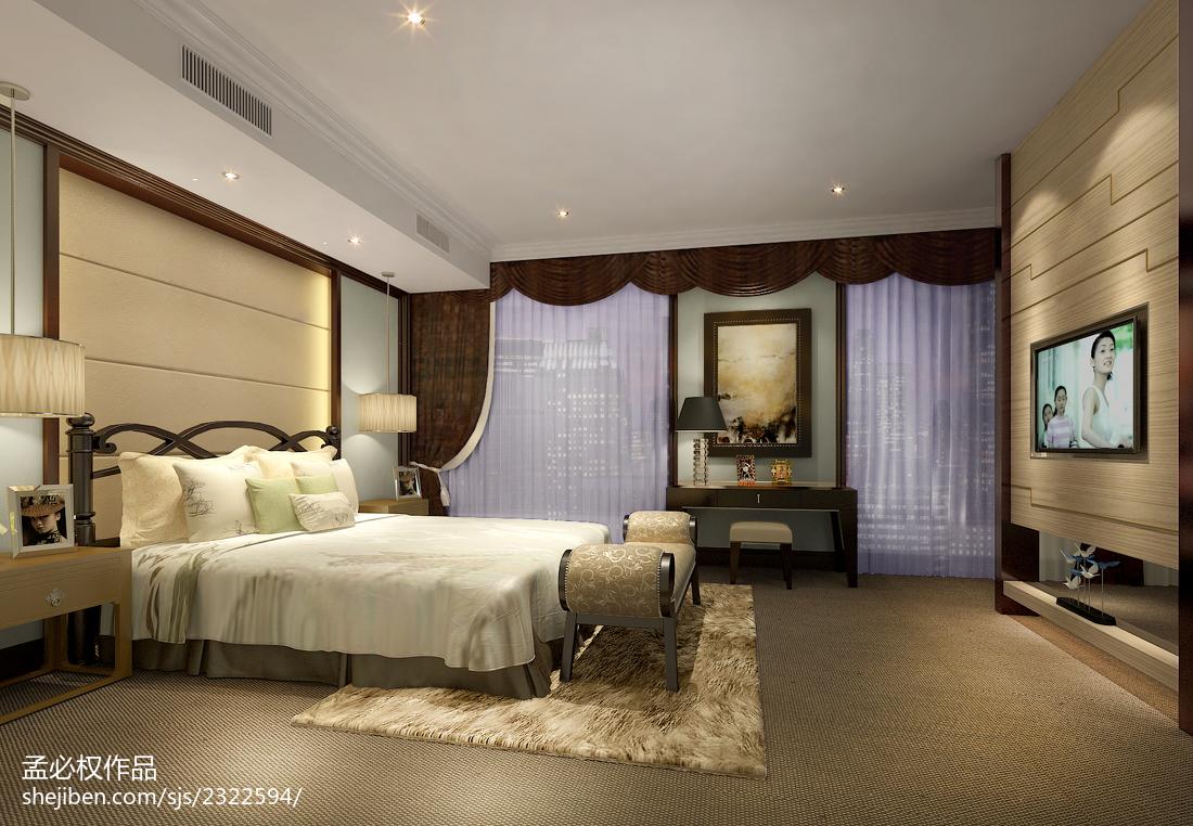 公寓卧室装修图片
