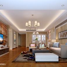 热门大小114平现代四居客厅装修效果图片欣赏