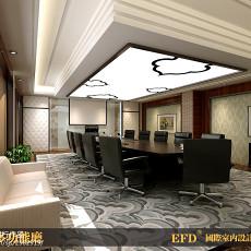 欧式别墅二层客厅精装修设计