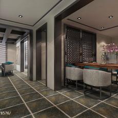 热门面积128平复式客厅中式效果图片