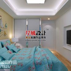 精美面积102平现代三居卧室实景图片大全