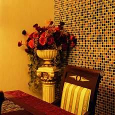 96平米三居餐厅美式效果图片大全