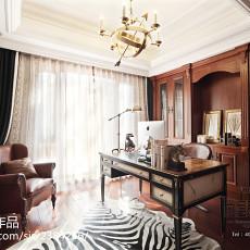 精选116平米美式别墅书房装修图片欣赏