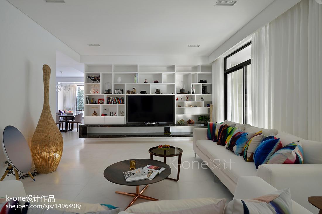 2018精选141平米现代复式客厅装修图片