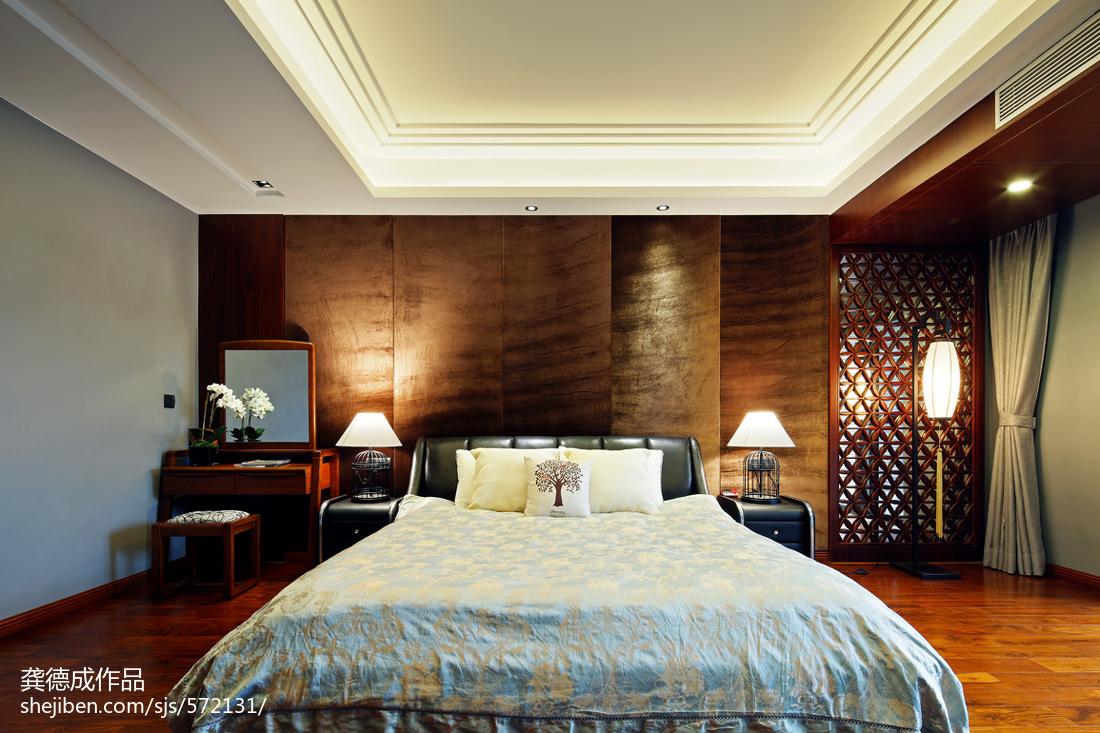 精选143平米中式别墅卧室装修图片欣赏