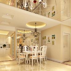 热门三居餐厅欧式装饰图