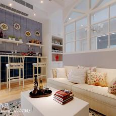面积79平小户型客厅现代欣赏图